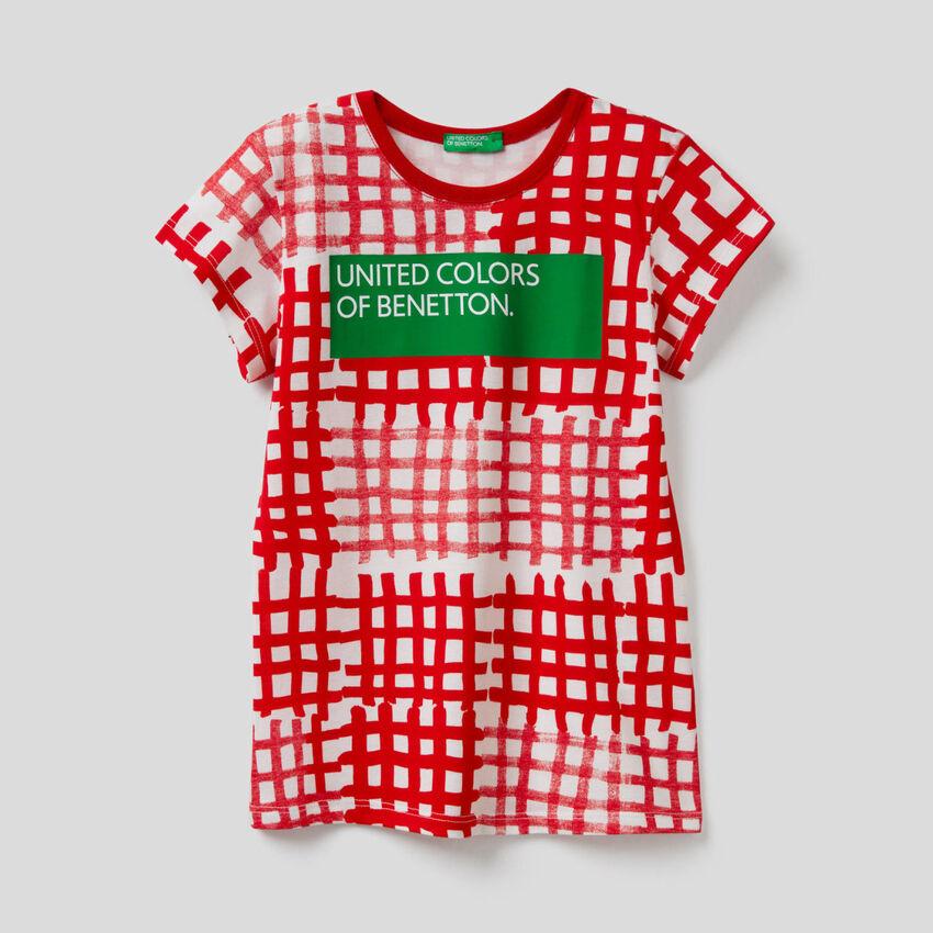T-shirt all-over com logótipo
