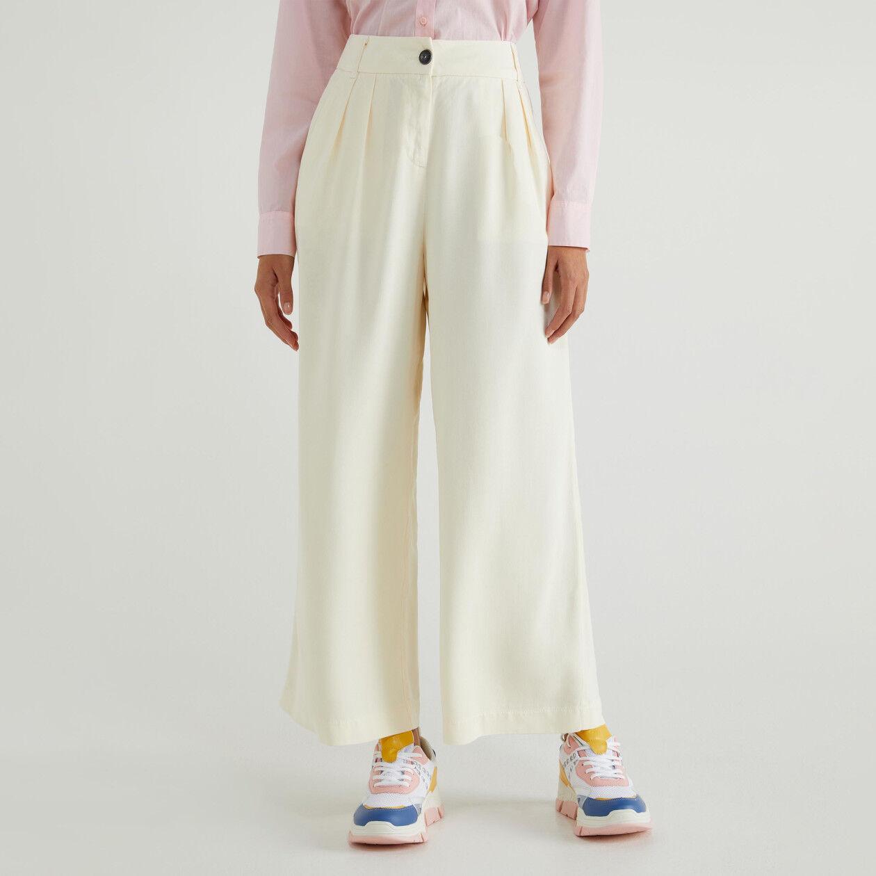 Calças culotte