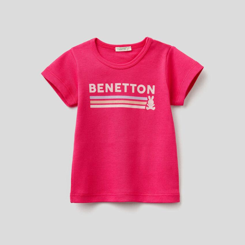 T-shirt 100% algodão orgânico