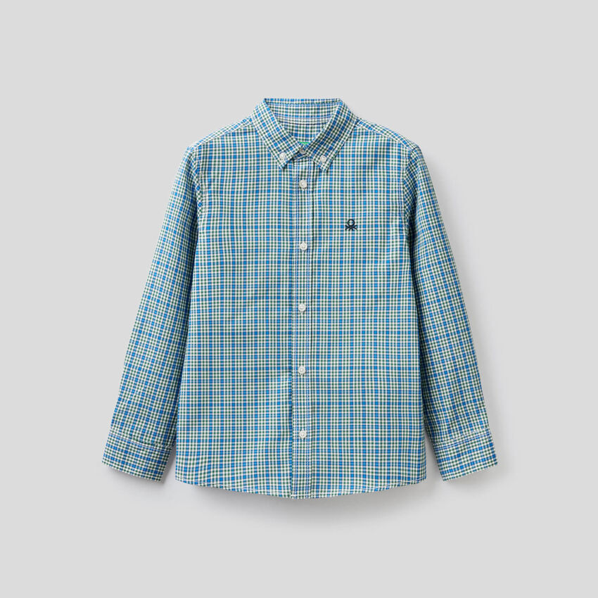 Camisa desportiva em 100% algodão