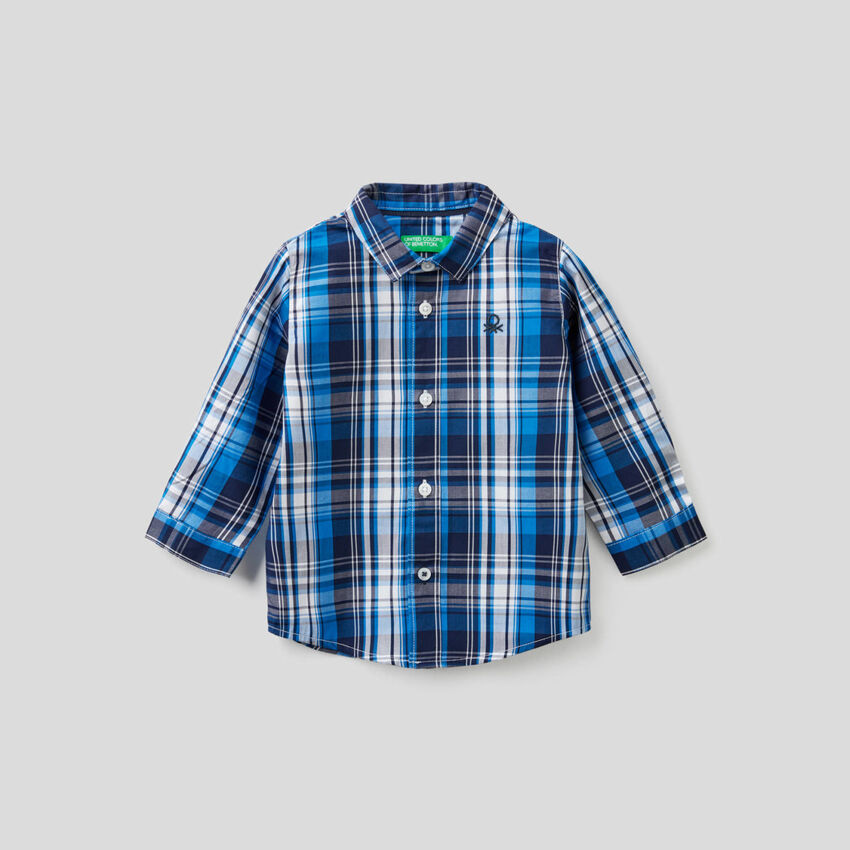 Camisa em algodão puro