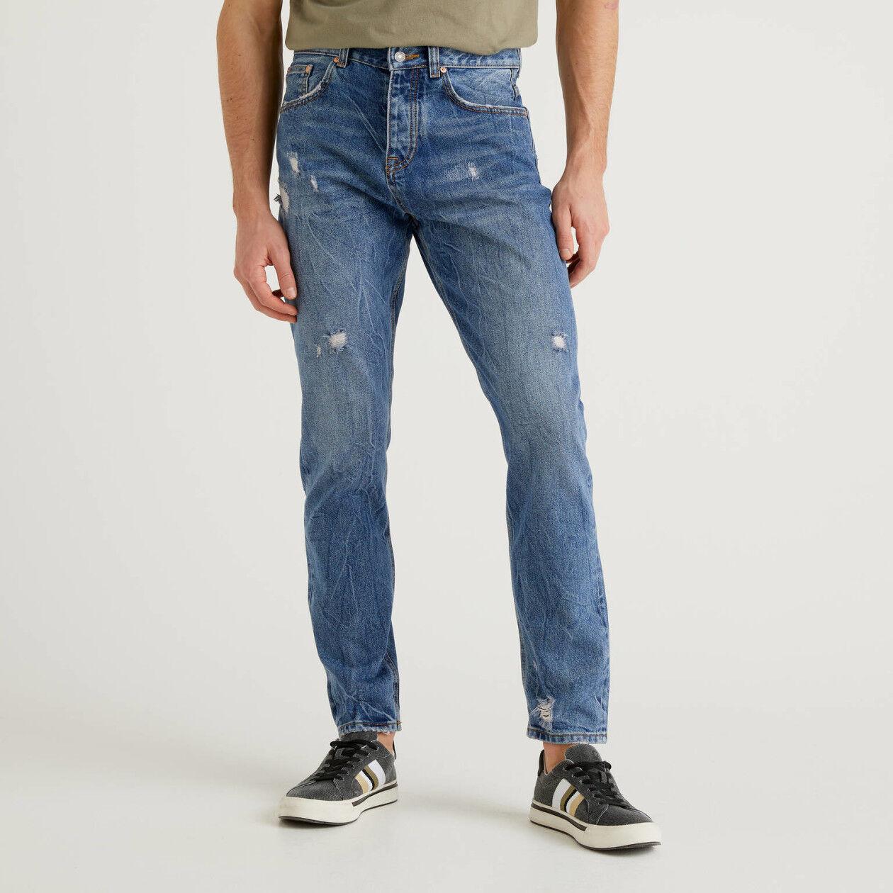 Jeans cinco bolsos regular fit