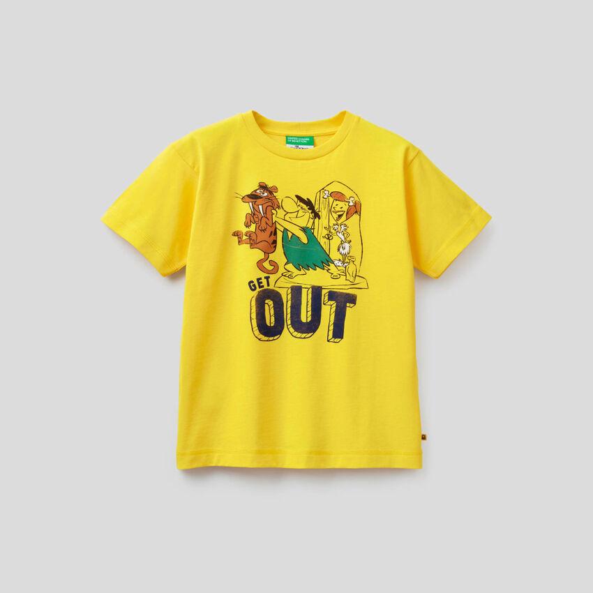 T-shirt Os Flintstones em algodão orgânico