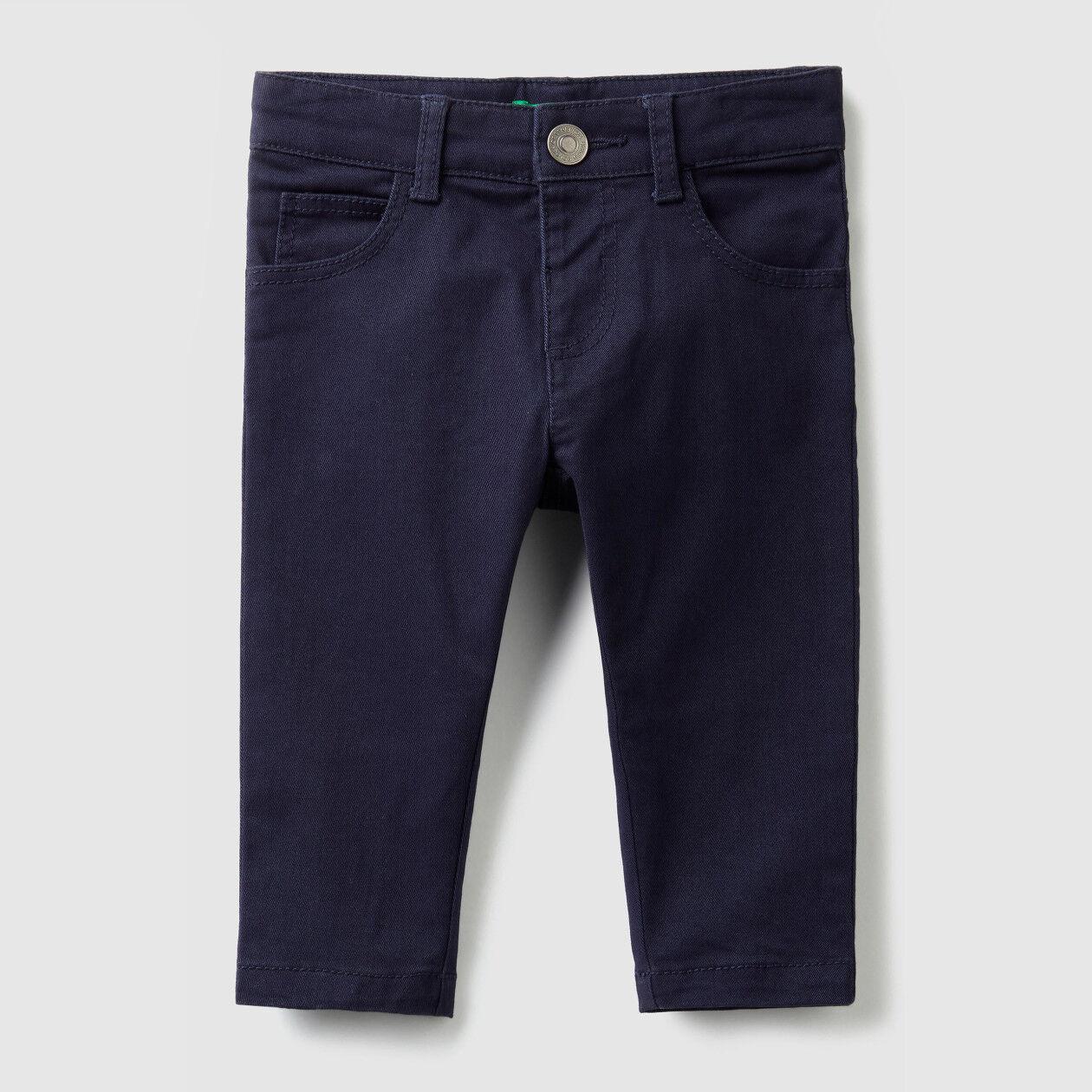 Calças stretch slim fit