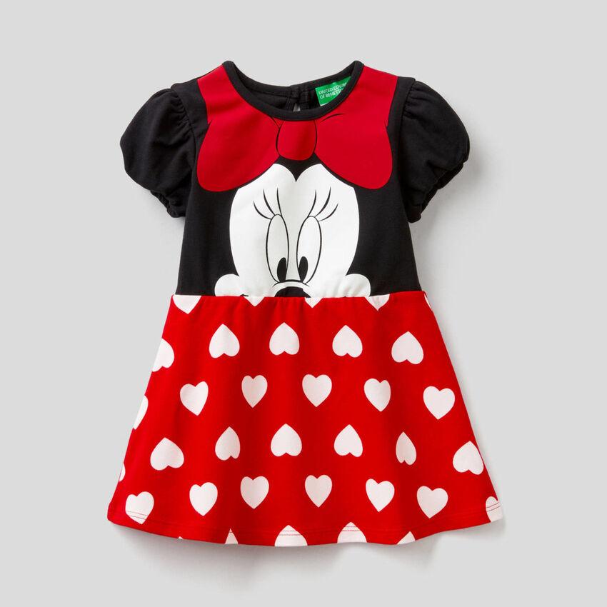 Vestido Minnie em algodão stretch