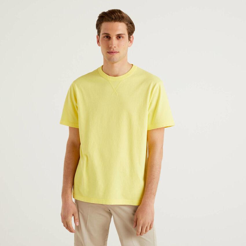 T-shirt 100% algodão com logótipo