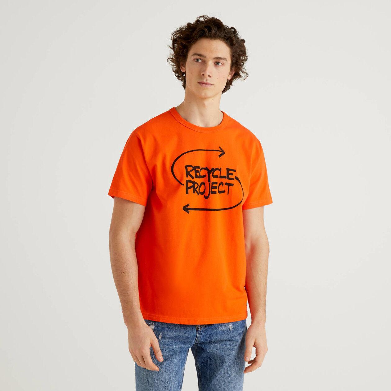 T-shirt 100% algodão orgânico com estampa