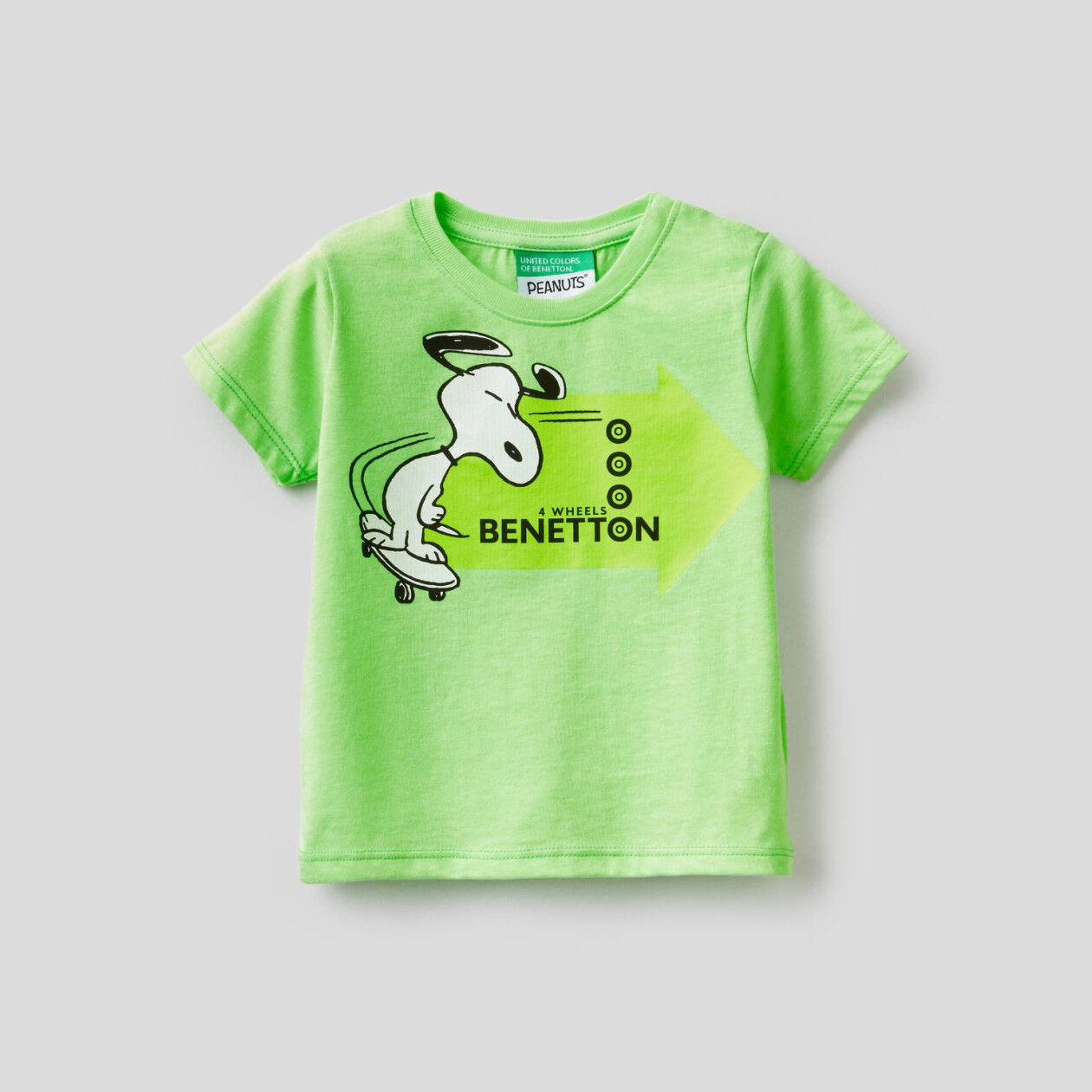 T-shirt com estampa Peanuts