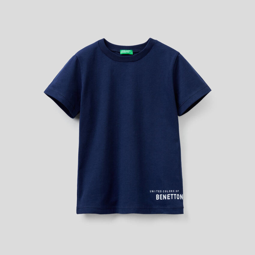 T-shirt básica em algodão orgânico