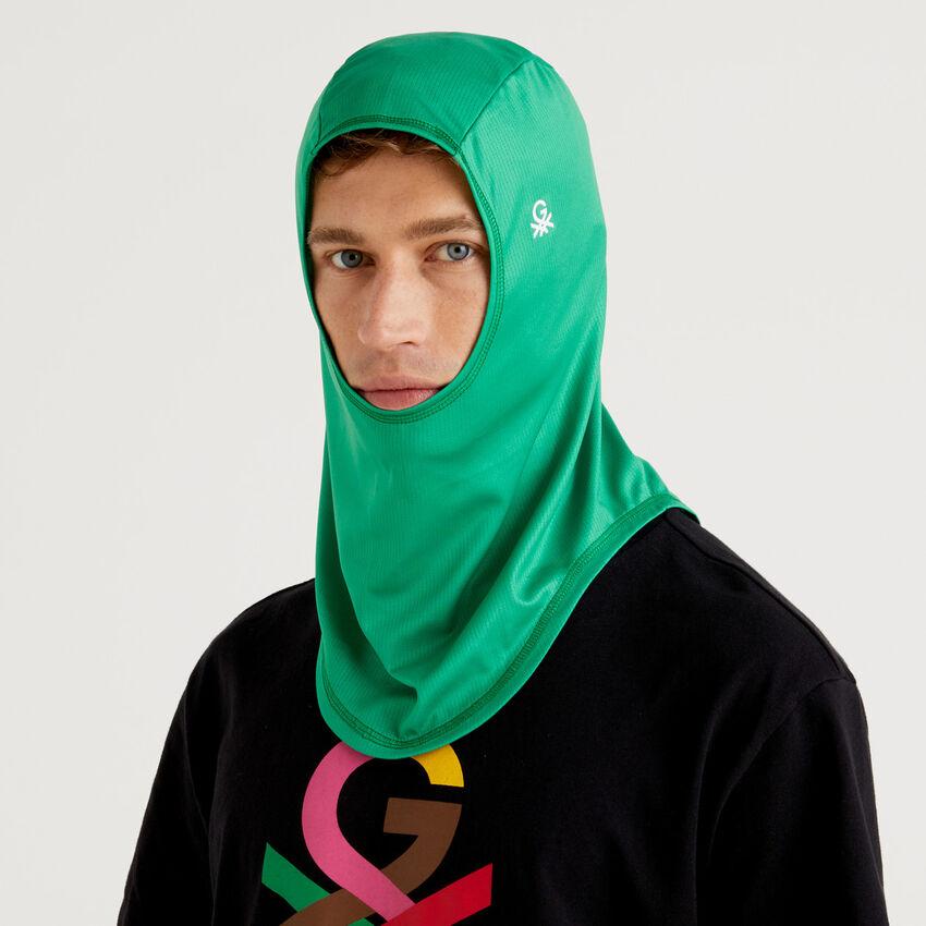 Hijab unissexo verde com logótipo by Ghali