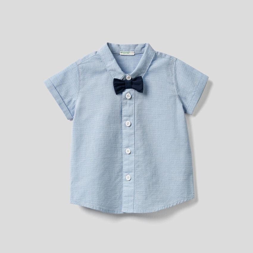 Camisa em algodão puro com logótipo
