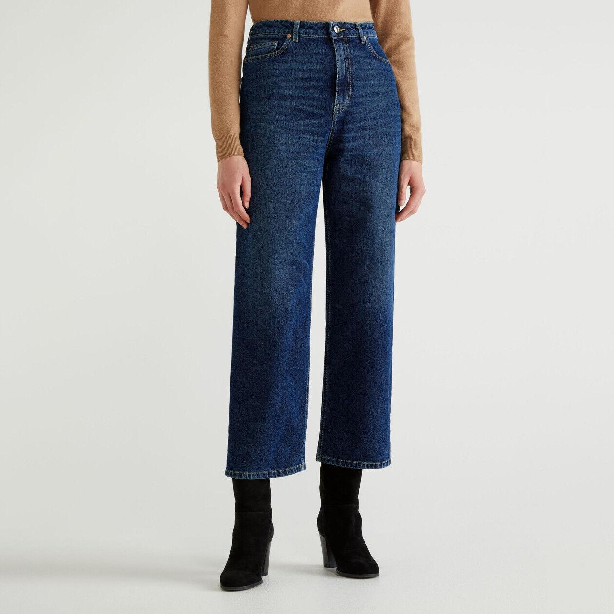 Jeans mum fit em denim stretch