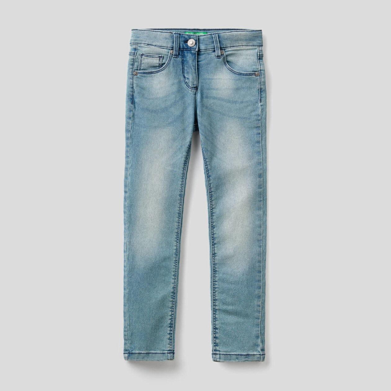 Jeans de cintura descida skinny fit