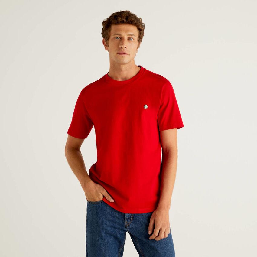 T-shirt básica 100% algodão orgânico