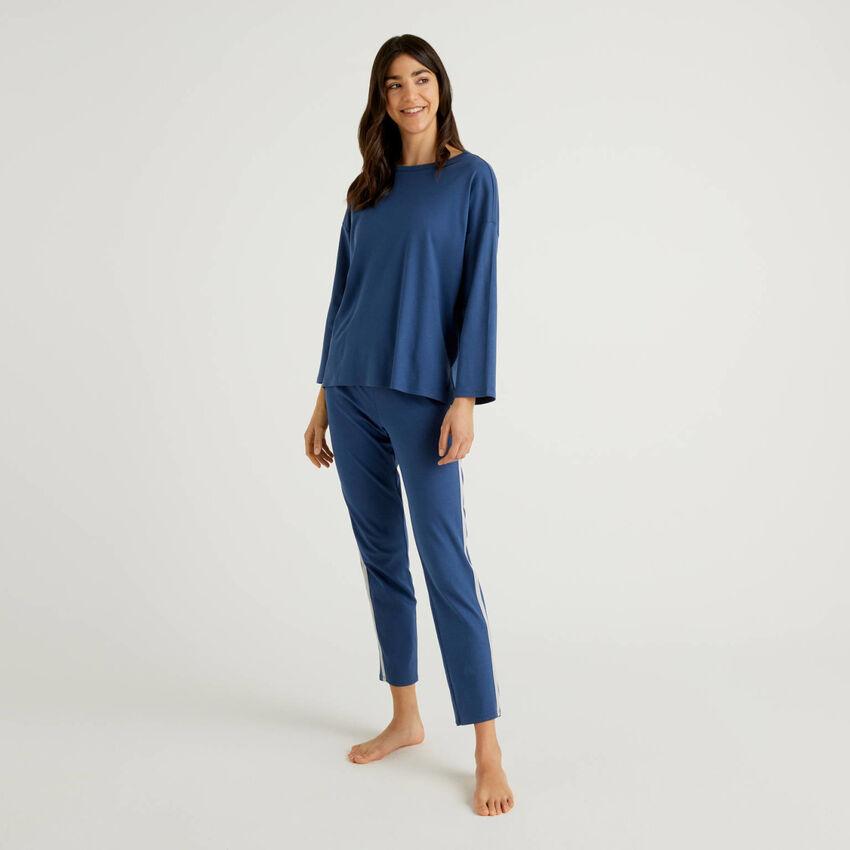 Pijama em algodão puro