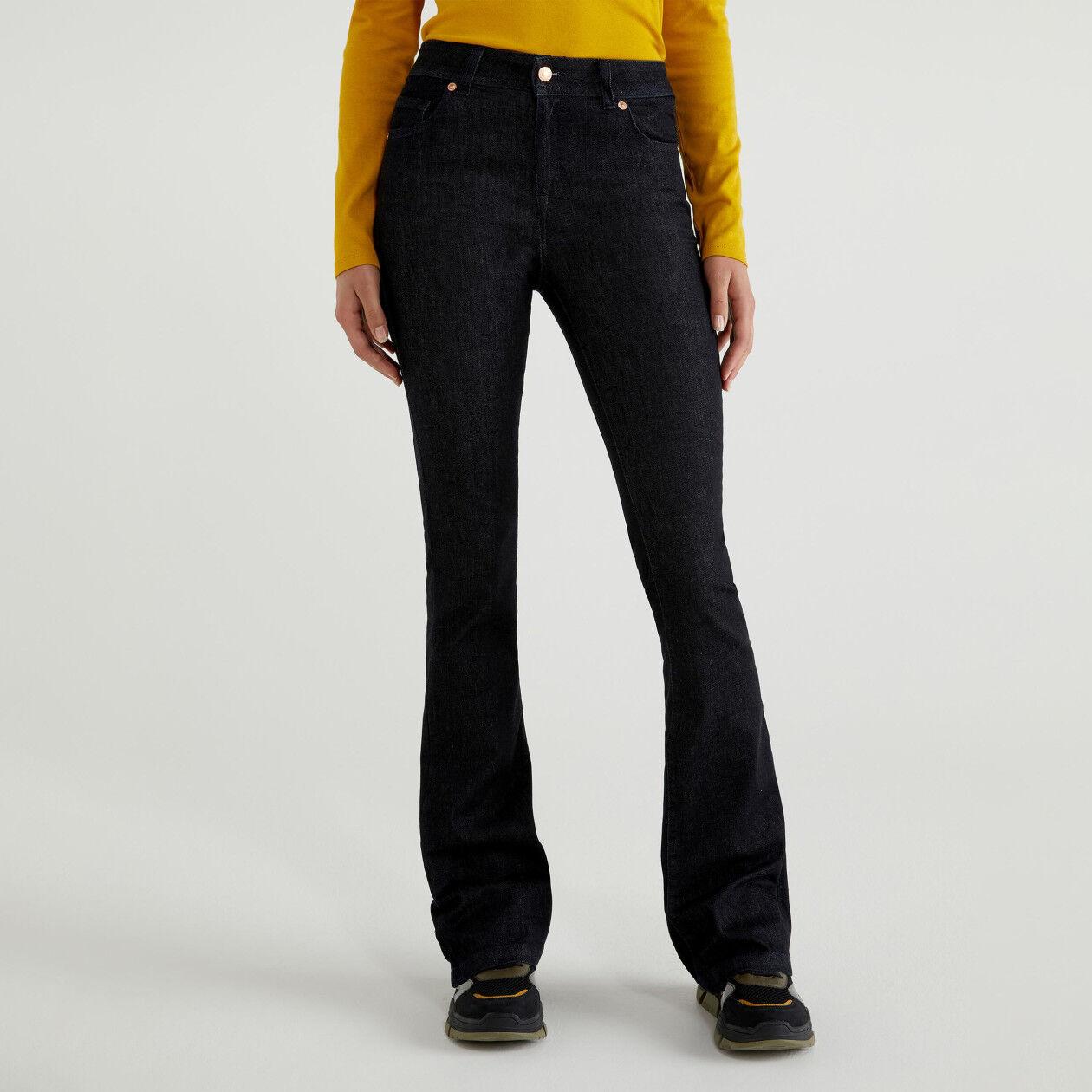 Jeans stretch boca-de-sino