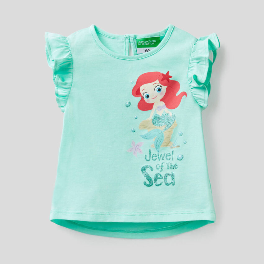 T-shirt com baby Princesa Disney